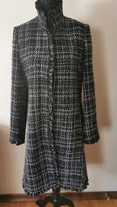 DKNY Donna Karan Wool Blend Coat Size 10
